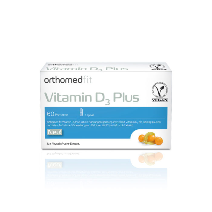orthomed fit vitamin d3 plus