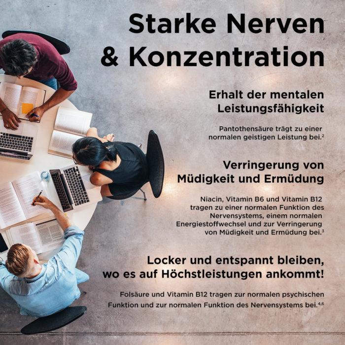 Starke Nerven & Konzentration