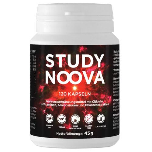 STUDY NOOVA Brain Booster Konzentration Tablette Nootropics